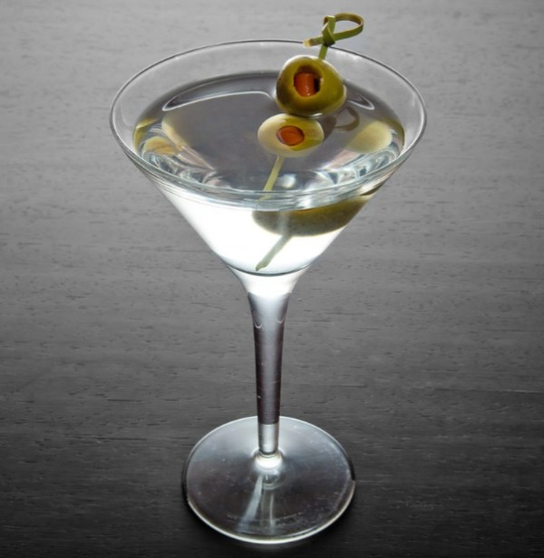 Dirty Martini Cocktail