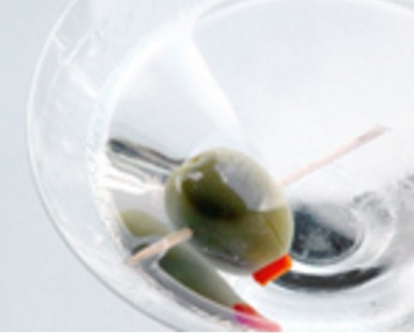 Bone-Dry Martini