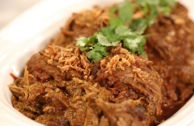 Slow-Baked Indian Spiced Brisket