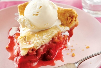 Gluten-Free Strawberry & Rhubarb Pie