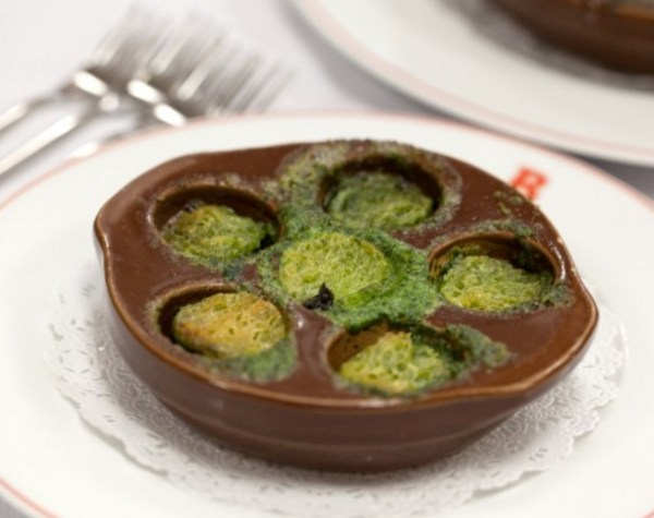Escargots in Garlic and Parsley Butter