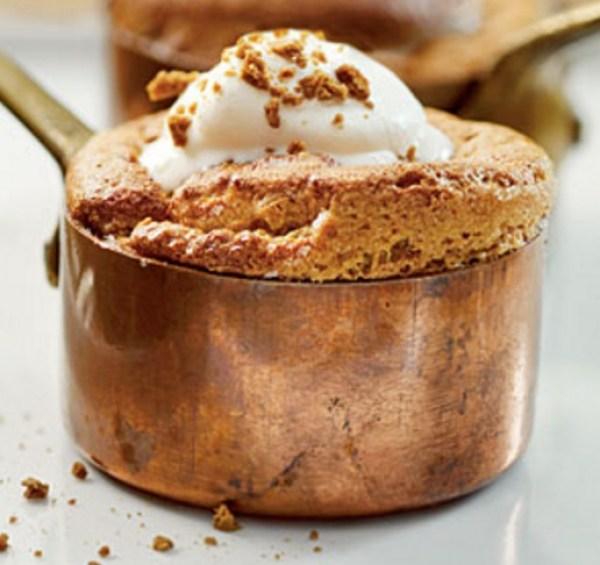 Gingerbread Soufflés