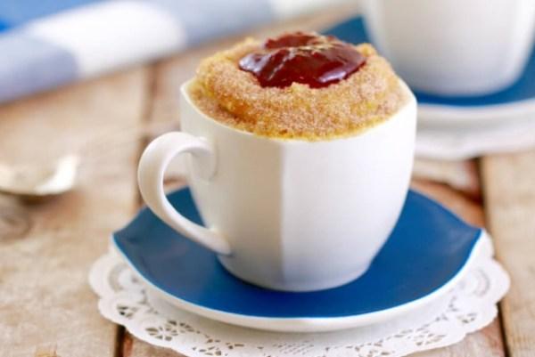 Jelly Donut in a Mug