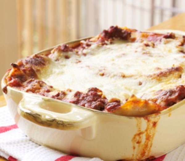 The Worlds Easiest Lasagna