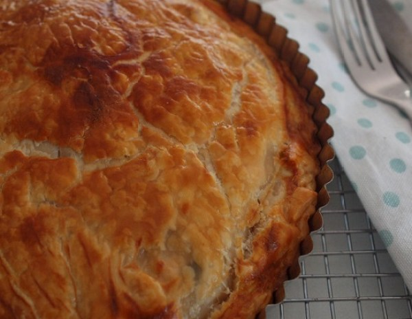The Worlds Easiest Chicken Pie