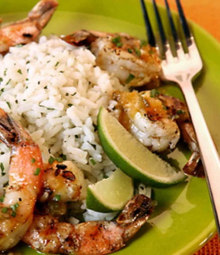 Tequila & Orange Grilled Shrimp
