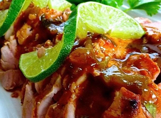 Tequila & Lime Pork Tenderloin