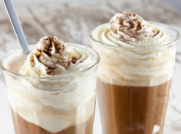 Vanilla Ice Cream Hot Coffee