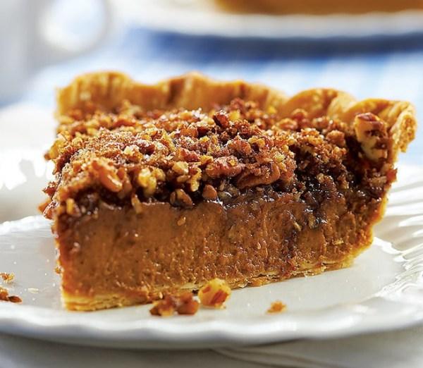 Pumpkin and Pecan Pie