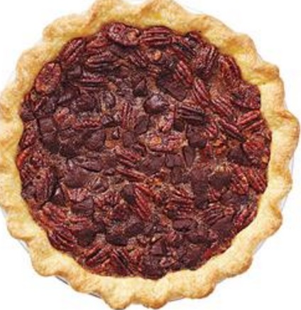 Chocolate & Whiskey Pecan Pie