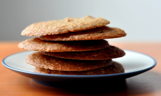 Almond Butter Crunch Cookies
