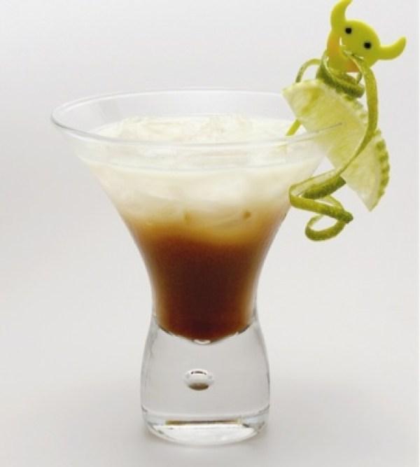 Absinthe Suissesse Cocktail