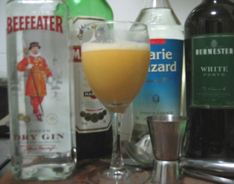 Broker's Flip Anisette Cocktail