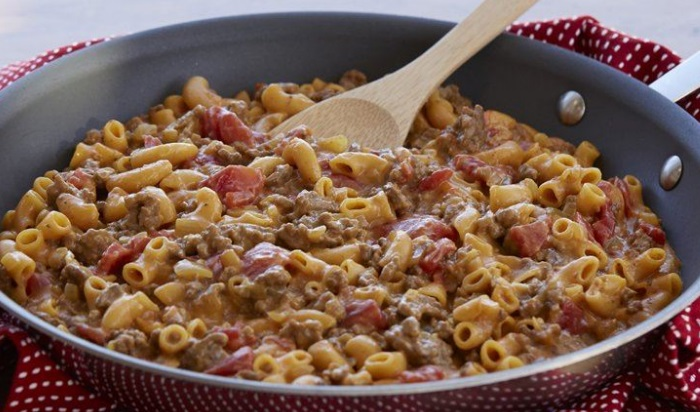 Loaded Cheeseburger Macaroni