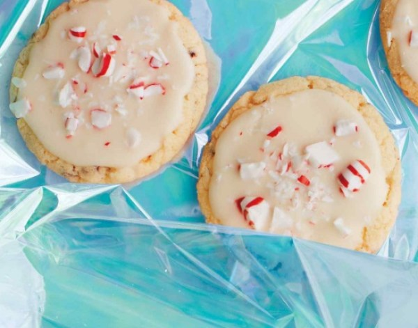 Peppermint & Chocolate Sugar Cookies
