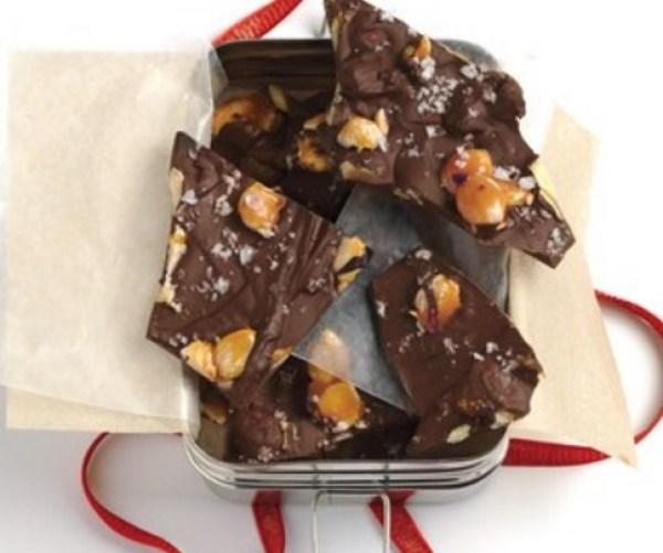 Chocolate & Almond Bark