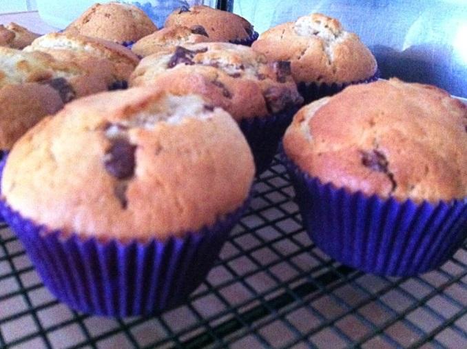 Cadbury's Dairy Milk Muffins