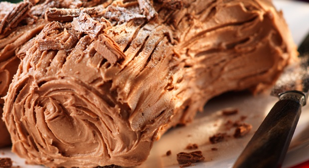 Cadburys Dairy Milk Traditional Yule Log