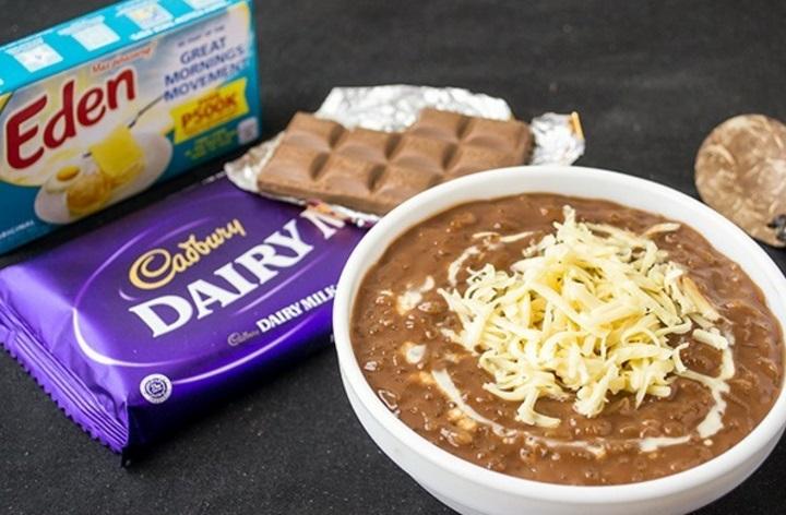 Cadburys Dairy Milk Champorado