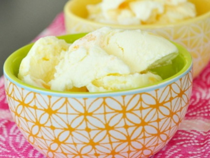 Georgia Peach Ice Cream