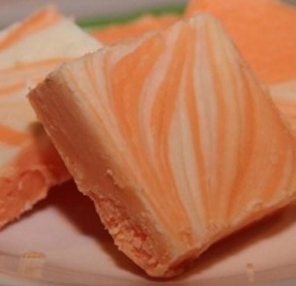Orange Cream Penuche Fudge