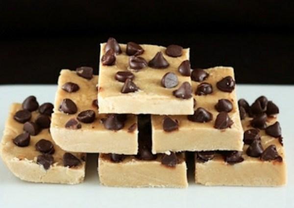 Chocolate Chip Penuche Fudge