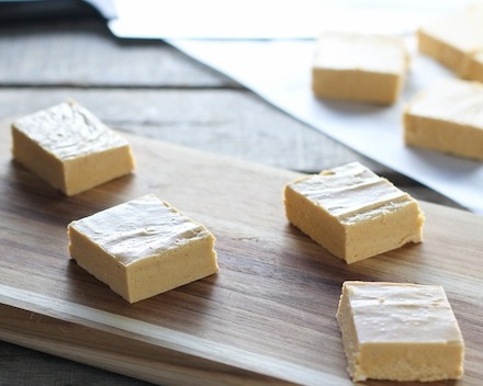 Pumpkin Spice Penuche Fudge