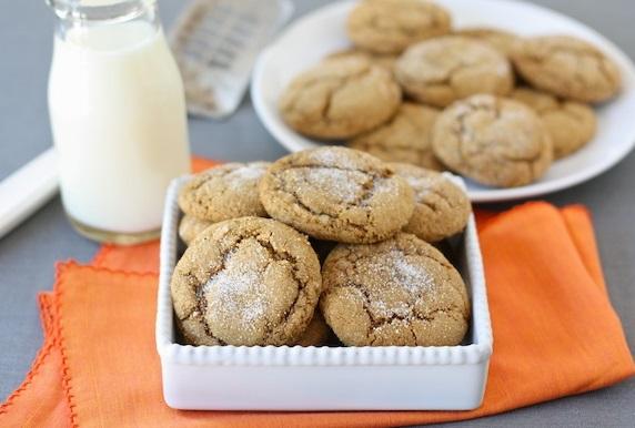 Pumpkin & Gingersnap Biscuits