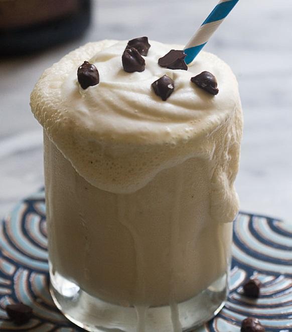 Coffee and Rum Milkshake