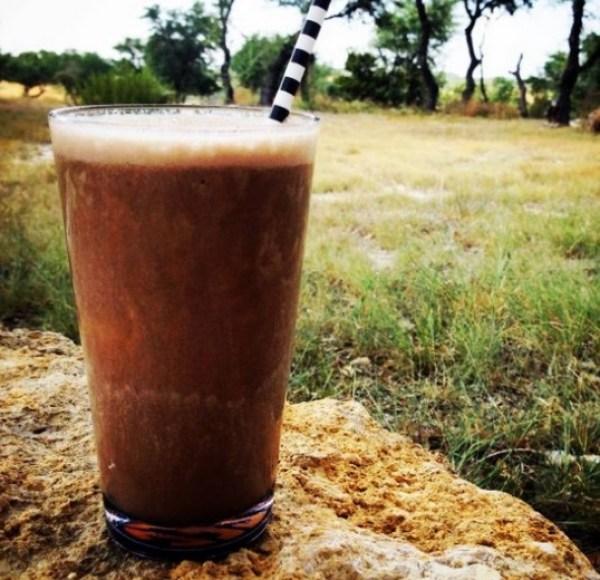 Banana & Coffee Milkshake
