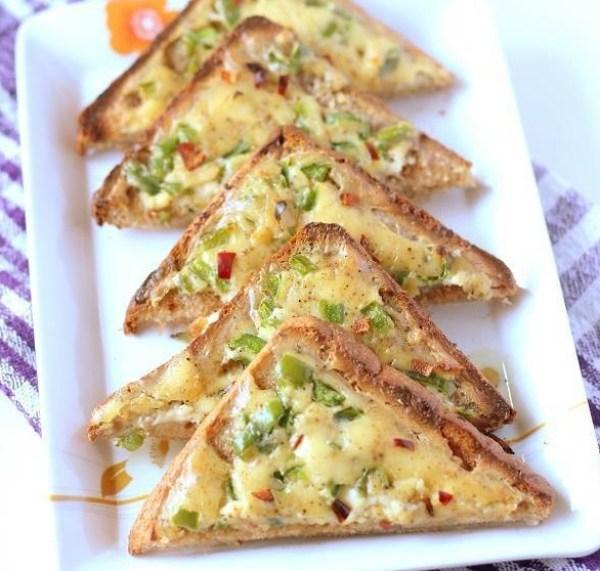 Veg Chilli Cheese on Toast