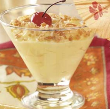 Piña Colada Pudding Cups