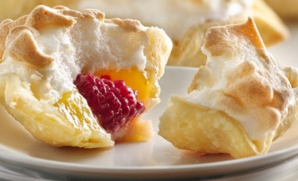 Lemon Meringue & Raspberry Pie