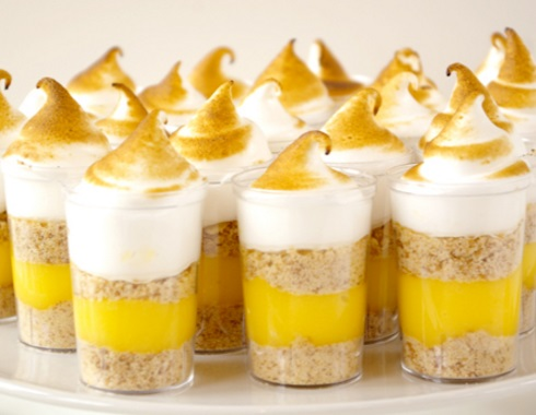Lemon Meringue Pie Shooters