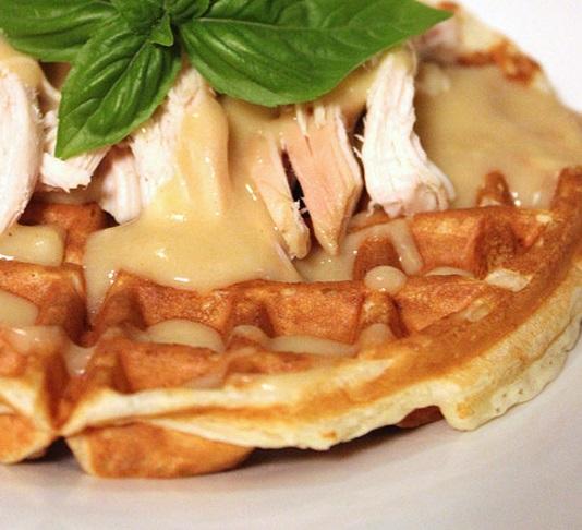 Savory Parmesan Waffles