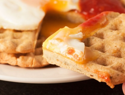 Devilled (Curry) Waffles