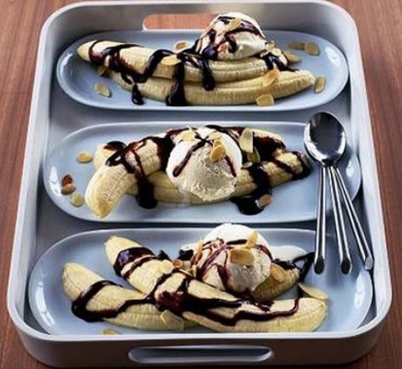 Speedy Banana Splits