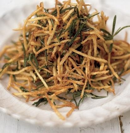 Rosemary Straw & Lemon Julienne Fries