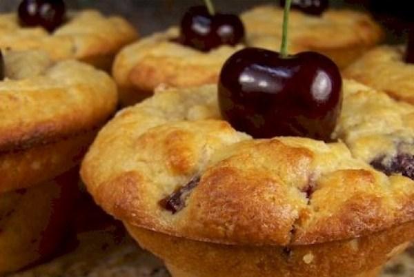 Cherry Ricotta Popovers