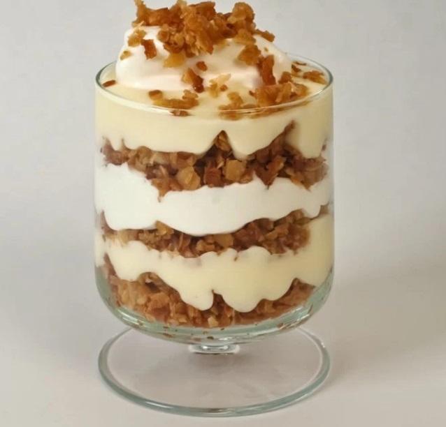 Vanilla Custard Pudding Cups