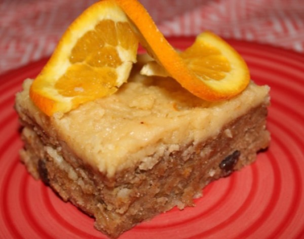Caribbean Sweet Potato Rum Cake