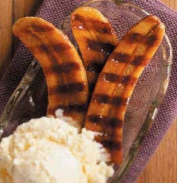 Honey & Rum Grilled Bananas