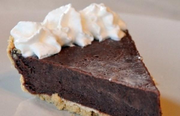 Chocolate Milkshake Pie