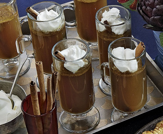 Hot Buttered Rum Apple Cider