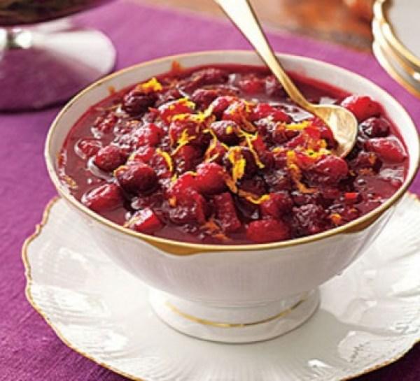 Mulled Cider Cranberry Sauce