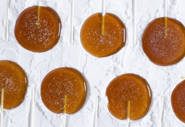 Mulled Cider Lollipops