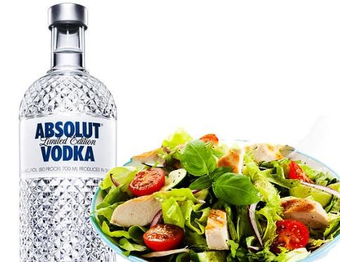 Vodka Salad