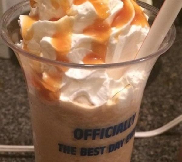 Starbucks Caramel Frappé