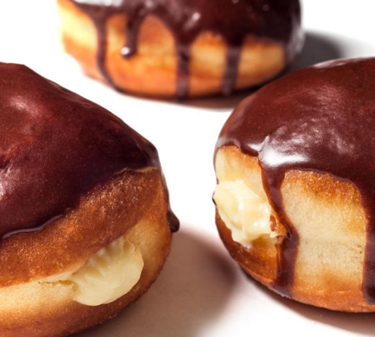 Boston Cream Filled Donuts