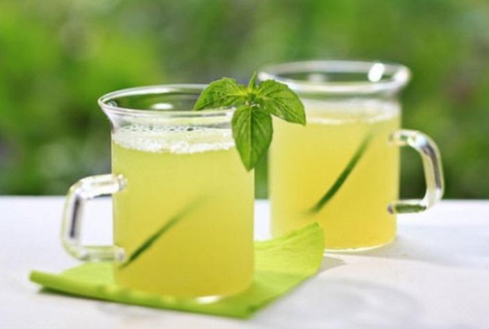 Honeydew Basil & Lime Juice